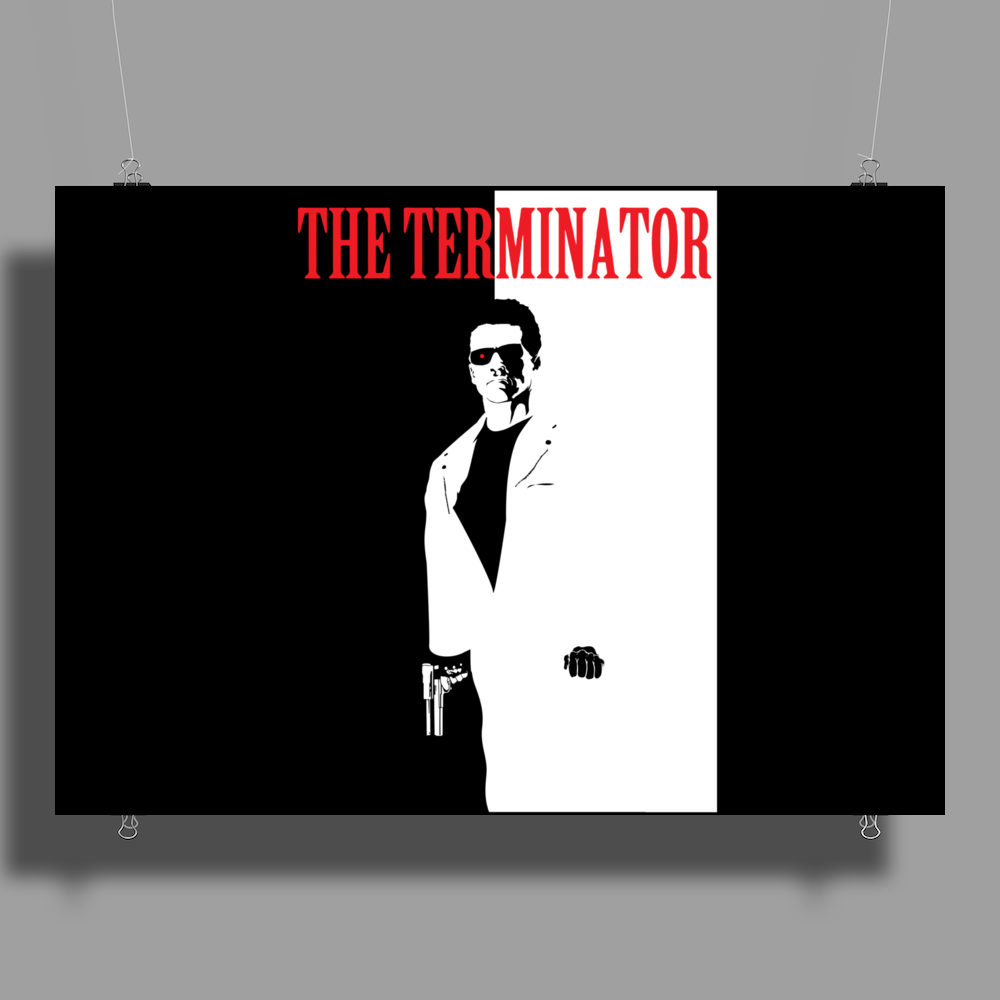 The Terminator Poster Print (Landscape)