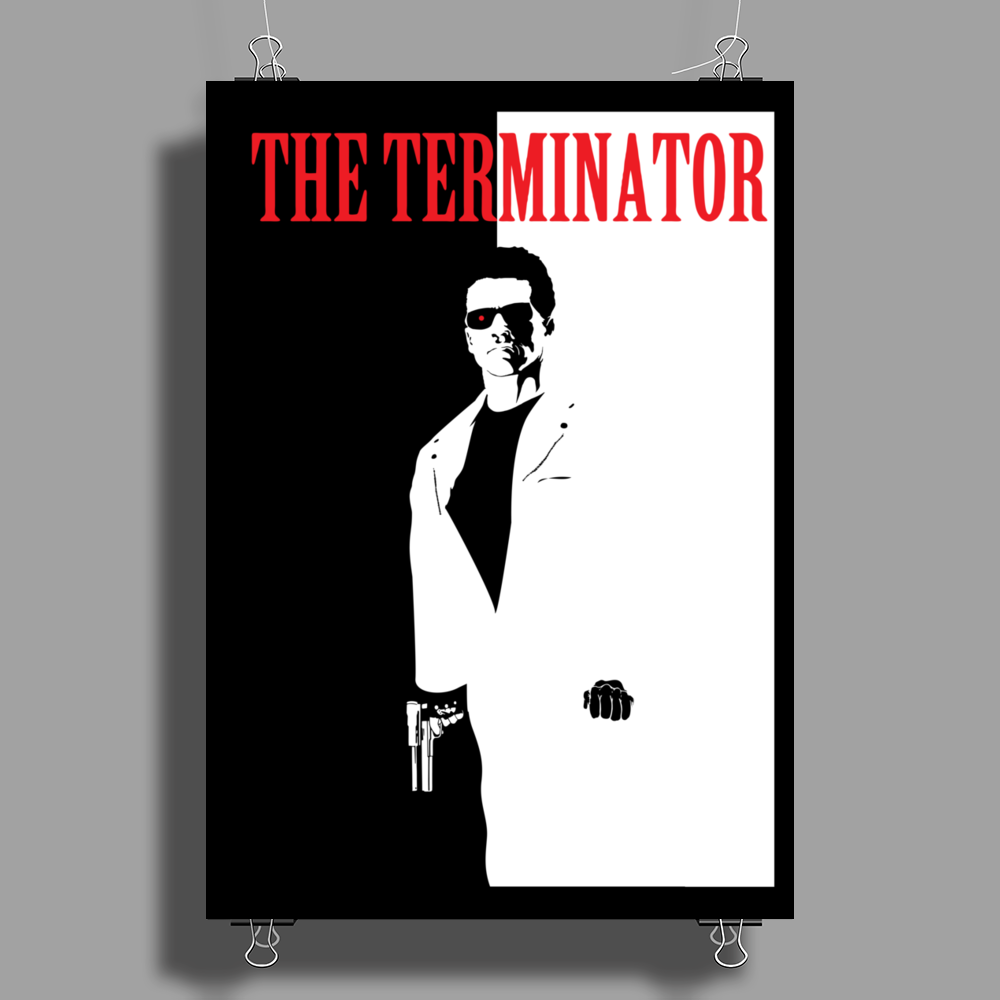 The Terminator Poster Print (Portrait)