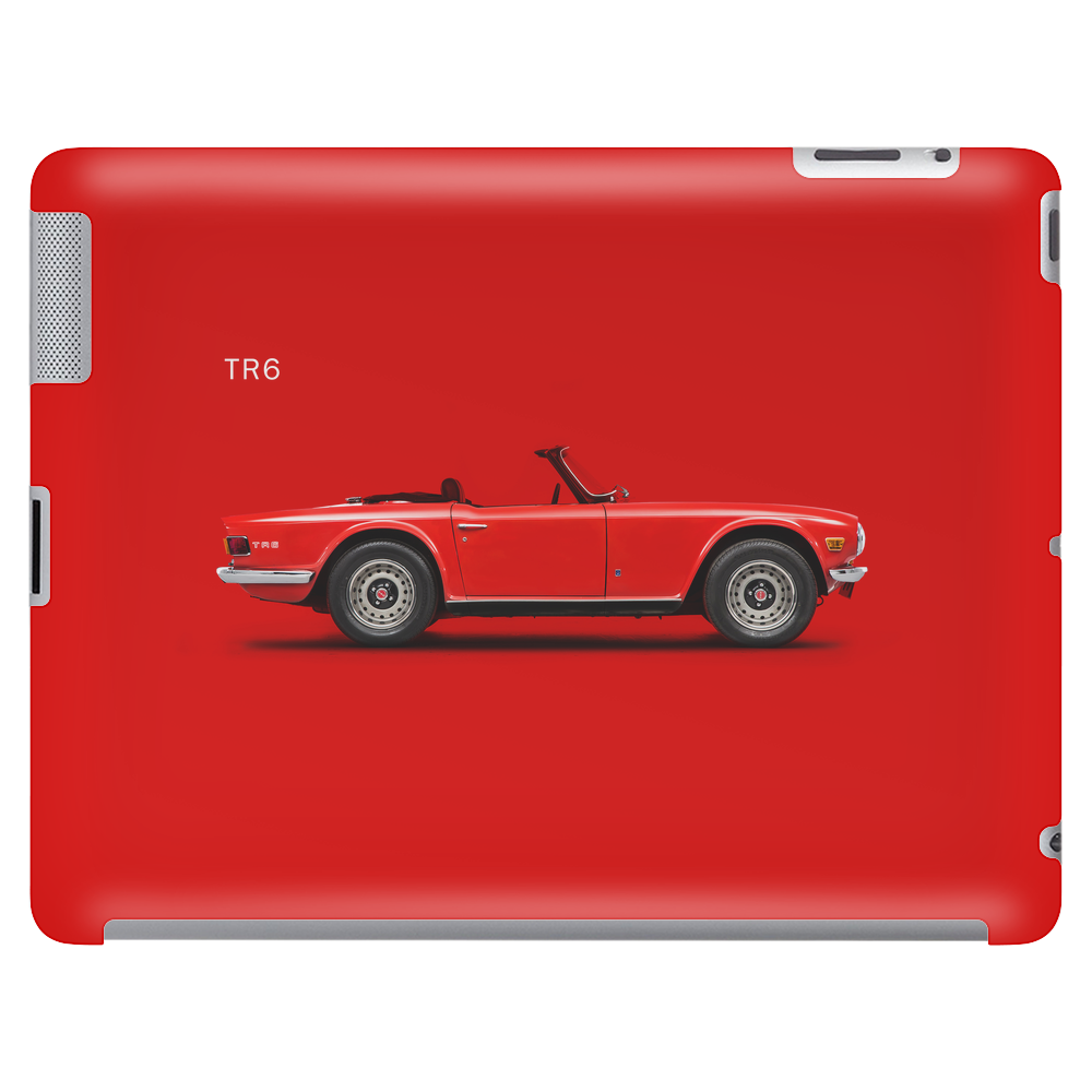 The Triumph TR6 Tablet (horizontal)