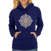 The Tudor Rose Pink Diamond Womens Hoodie