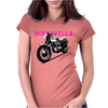 The Vintage Bonneville Motorcycle Womens Fitted T-Shirt