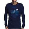 The Vintage Four Motorcycle Mens Long Sleeve T-Shirt