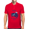 The Vintage Four Motorcycle Mens Polo