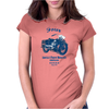 The Vintage Four Motorcycle Womens Fitted T-Shirt