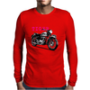 The Vintage Tiger Motorcycle Mens Long Sleeve T-Shirt