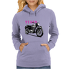 The Vintage Tiger Motorcycle Womens Hoodie