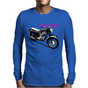 The Vintage Trophy Motorcycle Mens Long Sleeve T-Shirt