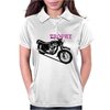 The Vintage Trophy Motorcycle Womens Polo