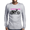 The Vintage X-75 Hurricane Motorcycle Mens Long Sleeve T-Shirt