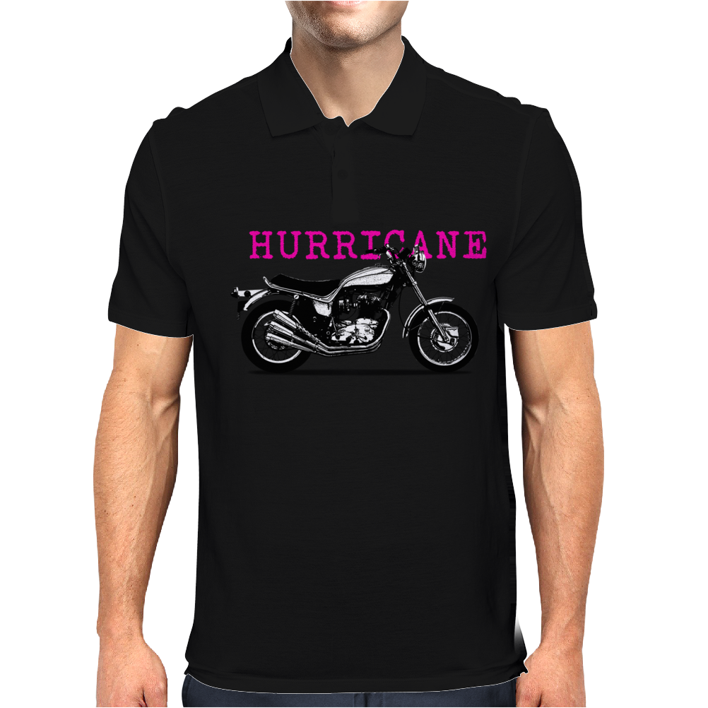 The Vintage X-75 Hurricane Motorcycle Mens Polo