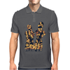 THE WALKING DEAD – ALL CHARACTERS – HOMAGE TO THE AMC TWD SHOW - NEW Mens Polo