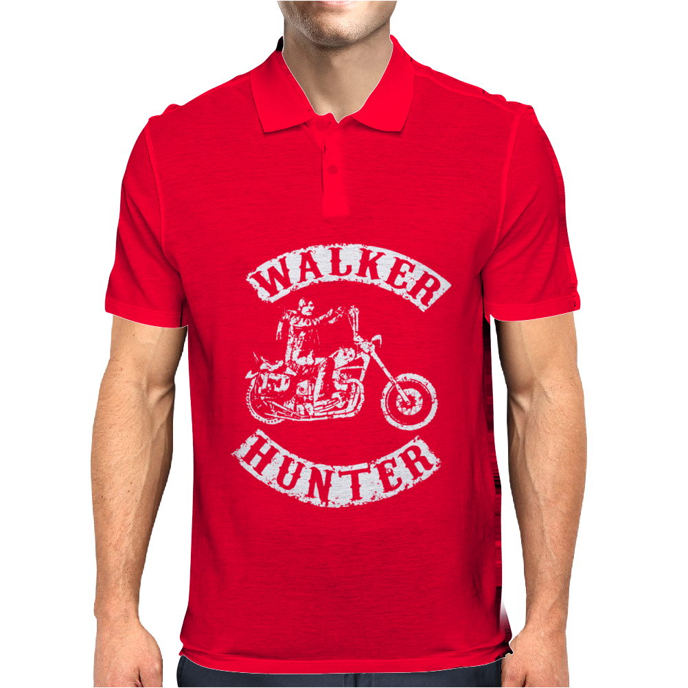 The Walking Dead Tv Show Daryl Dixon Walker Hunter Zombies Mens Polo