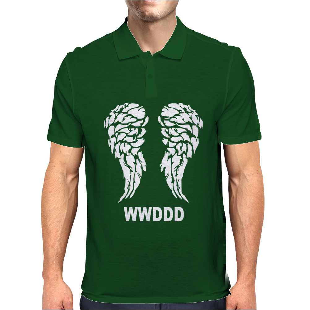 The Walking Dead What Would Daryl Dixon Do Mens Polo
