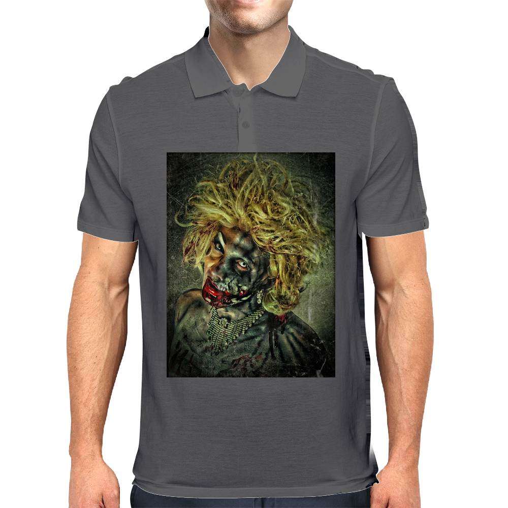 the walking dead women Mens Polo