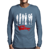 The Warriors Tv Movie Retro Mens Long Sleeve T-Shirt