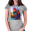 The Whirling Wind Womens Fitted T-Shirt