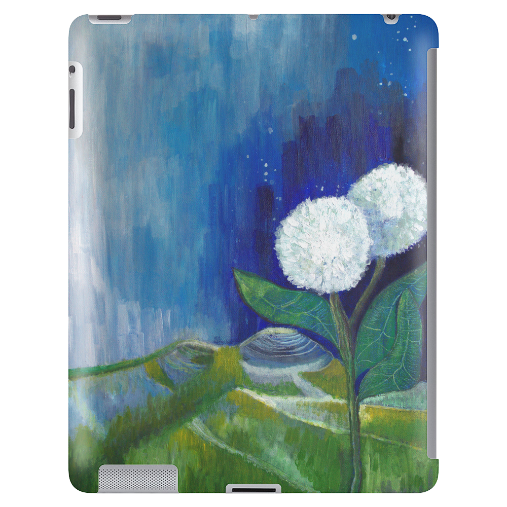 The White Flowers Tablet (vertical)
