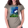 The White Flowers Womens Fitted T-Shirt