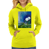 The White Flowers Womens Hoodie