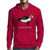 The White Stripes Red Penguin Mens Hoodie