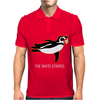 The White Stripes Red Penguin Mens Polo