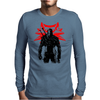 The white wolf Mens Long Sleeve T-Shirt