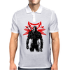 The white wolf Mens Polo
