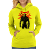 The white wolf Womens Hoodie
