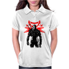 The white wolf Womens Polo