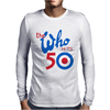 The Who Band Hits 50 USA Tour date 2016 Mens Long Sleeve T-Shirt