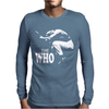 The Who Stencil Mens Long Sleeve T-Shirt