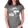 The Who Stencil Womens Fitted T-Shirt