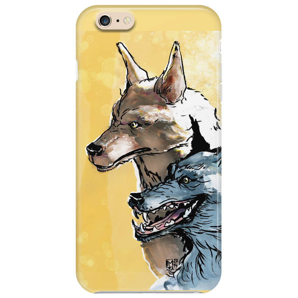 The Wise and the Fool Phone Case