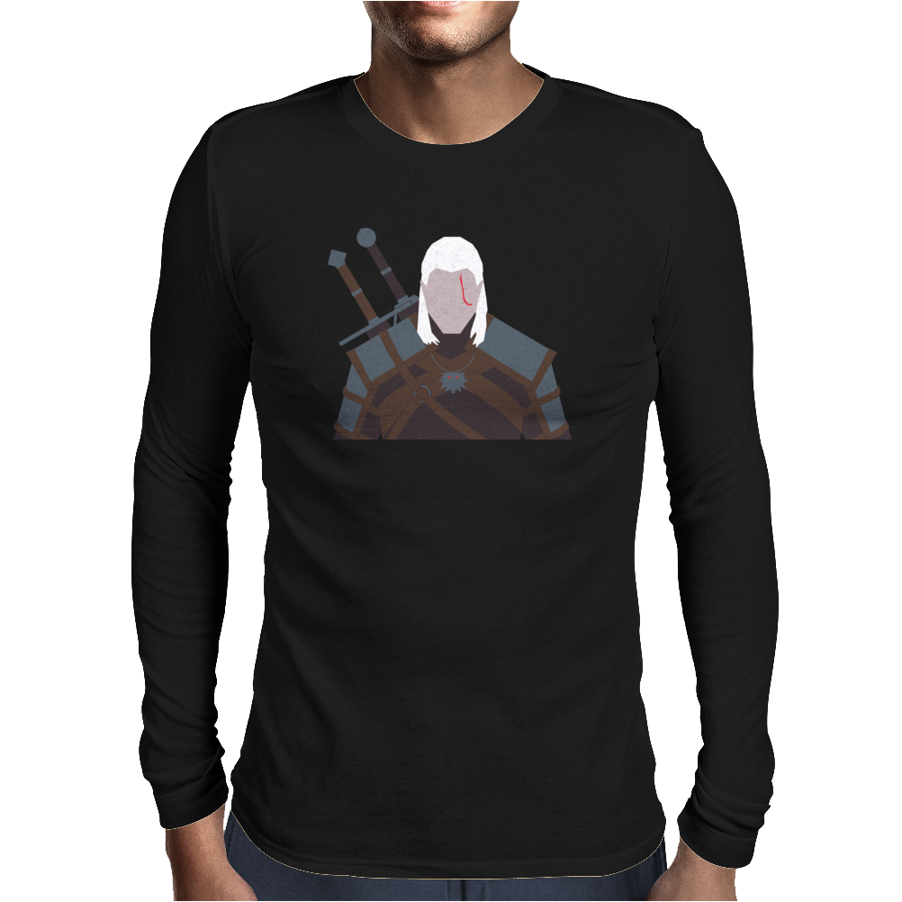 The Witcher - Geralt of Rivia Mens Long Sleeve T-Shirt