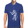 the Workout Mermaid Mens Polo