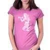 the Workout Mermaid Womens Fitted T-Shirt