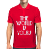 The World Is Yours Mens Polo