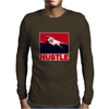 The Worm: Hustle Mens Long Sleeve T-Shirt