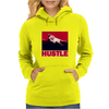 The Worm: Hustle Womens Hoodie