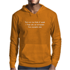 There are two kinds of people Mens Hoodie