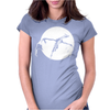 There Be Dragons Womens Fitted T-Shirt