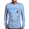 Theres No Crying In Baseball Mens Long Sleeve T-Shirt
