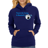 Theres No Crying In Baseball Womens Hoodie
