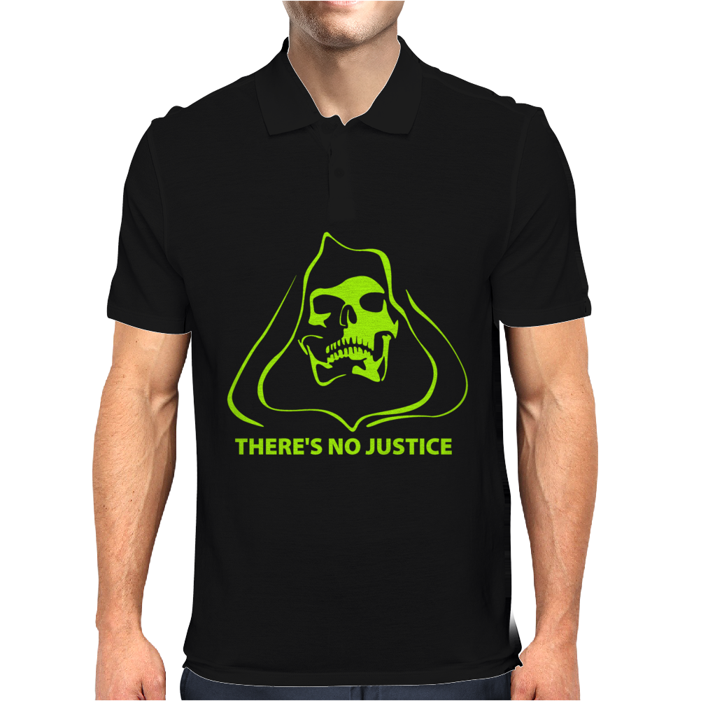 There's no justice Mens Polo