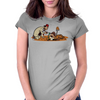 There's Treasure Everywhere Womens Fitted T-Shirt