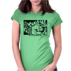 They come from another world! Sci-fi Pop Art Womens Fitted T-Shirt