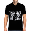 They Live Mens Polo
