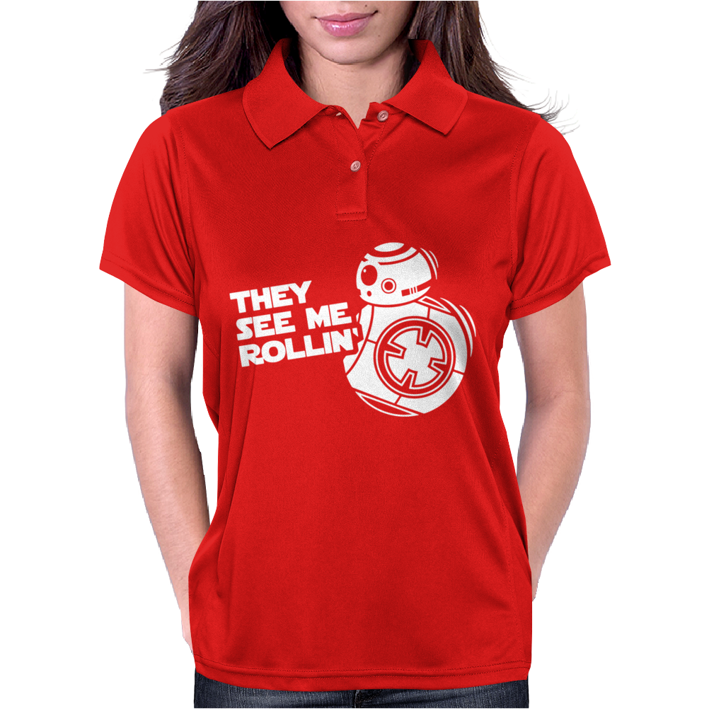 They See Me Rollin They Hatin Womens Polo