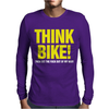 Think Bike Mens Long Sleeve T-Shirt