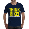 Think Bike Mens T-Shirt